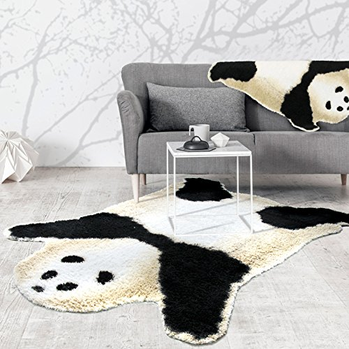 Kids Panda Bear Playmat Animal Panda Rug for children bedroom playroom living room (Panda, 5'x6.2'(150x190cm)) by HUAHOO