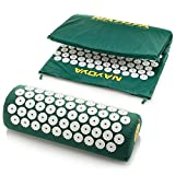 Nayoya-Back-and-Neck-Pain-Relief-Acupressure-Mat-and-Pillow-Set-Relieves-Stress-Back-Neck-and-Sciatic-Pain-Comes-with-a-Vinyl-Carry-Bag-for-Storage-and-Travel-As-Seen-in-USA-Today