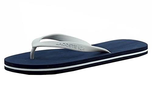 395ef254f2a0 Lacoste LACO-7-31SPW0005-7E9-5 Navy L  Buy Online at Low Prices in India -  Amazon.in