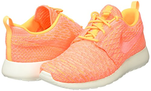 Nike Orange Mango laser Wmns bright Roshe Chaussures De sail One Sport Orange Flyknit Femme 44Bqrw