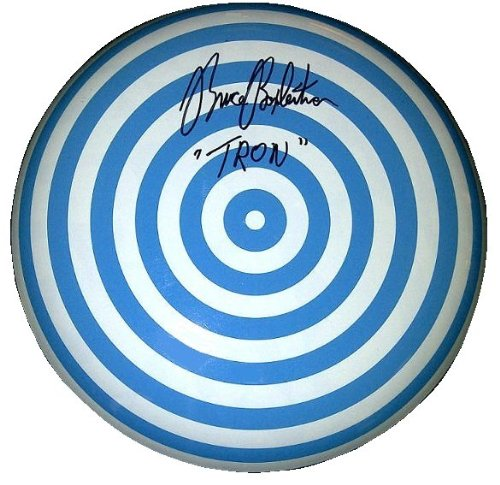 Bruce Boxleitner Autographed TRON Movie Inspired Disc