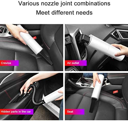 Aspirateur portableCar Vacuum Cleaner Portable Mini Vacuum Cleaner for Car High Power Handheld Powerful Vacuum Cleaner