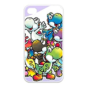 iPhone 5 5s Yoshi Case Super Mario World Yoshi Cases Covers Green Black Colorful For Apple iPhone 5 5s at NewOne