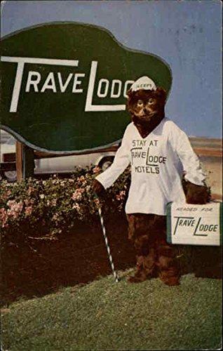 TraveLodge Hotels Original Vintage Postcard