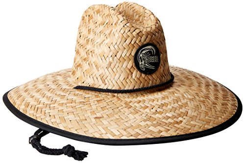 O'Neill Men's Sonoma Prints Straw Hat, Naturl1, One Size (Straw Hat Sun Beach)