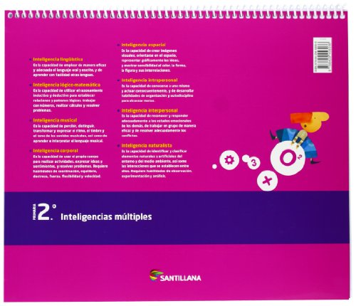 CUADERNO INTELIGENCIAS MULTIPLES 2 PRIMARIA - 9788429456066