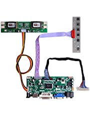 """GeeekPi NT68676 HDMI+VGA+DVI+Audio Input LCD Controller Driver Board or HSD190MEN4 M170EN06 17"""" 19"""" 1280x1024 4CCFL 30Pins LCD Panel,Fit for Arcade1Up Monitor"""