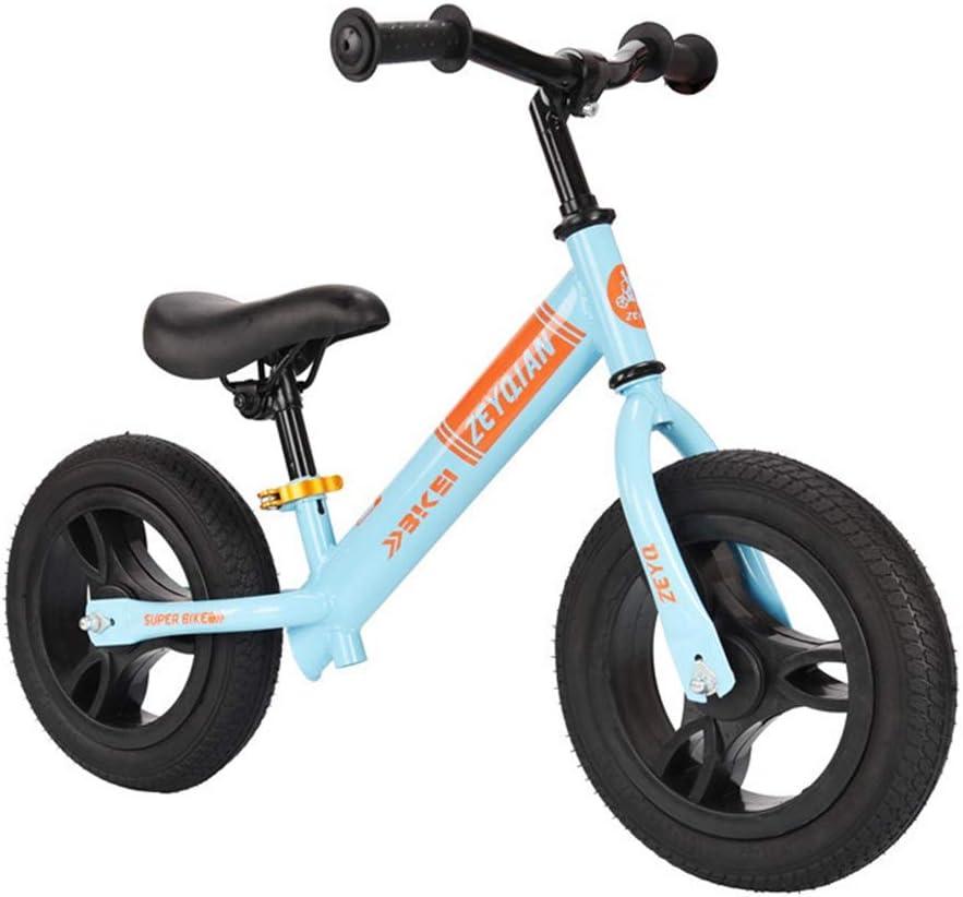KELITE Balance de Bicicletas, n-Pedal de Bicicleta de Equilibrio for Caminar Los niños de 3 a 6 años de formación de Bicicletas con Asiento Ajustable