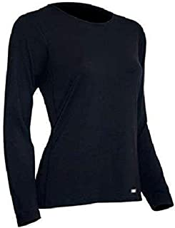 product image for Polarmax Woman's Long Sleeve Crew Tee - Blue - (Medium)