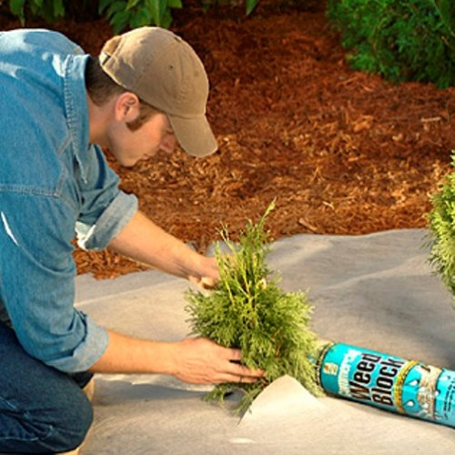 Easy Gardener 2509 Commercial Grade Landscape Fabirc - 4-Foot x 100-Foot