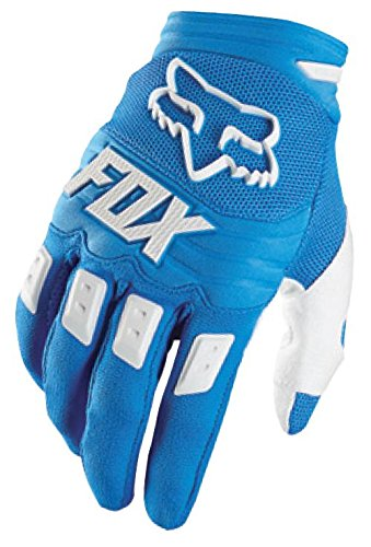 Fox Men's Dirtpaw Race Gloves, Blue, (Dirtpaw Bike Glove)
