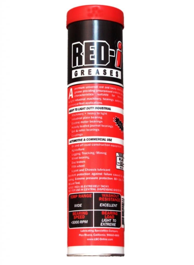 Red-I-50042-C: Red-I Grease-50/14oz tubes; 1 Case by Red-I
