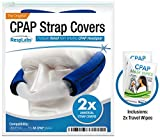 RespLabs CPAP Headgear Strap Covers - Universal Mask Pads | Extremely Comfortable Soft Fleece Cushion [2 Pack]