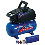 Campbell Hausfeld FP2048 2-Gallon Air Compressor and 8-Piece Accessory Kit by Campbell Hausfeld
