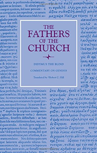Commentary on Genesis (Fathers of the Church Patristic Series) ebook