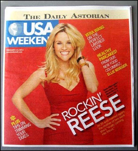 USA Weekend (February 3-5, 2012 - Rockin' Reese)