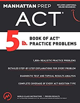 Amazon 5 lb book of act practice problems ebook manhattan 5 lb book of act practice problems by manhattan prep fandeluxe Choice Image