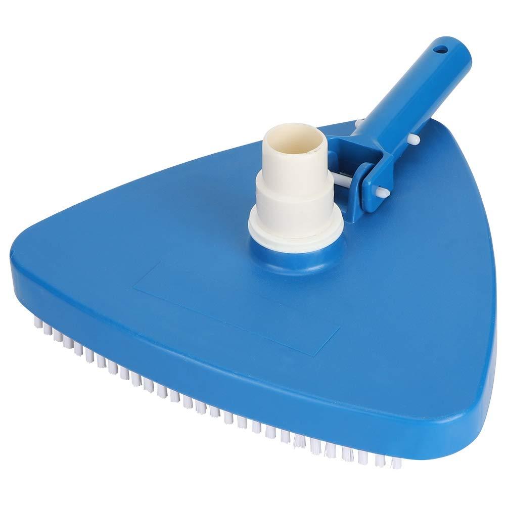 Sugoyi Triangular Vacuum Head, Portable Weighted Triangular Shape Swimming Pool Vacuum Head Brush Cleaning Tool Accessories by Sugoyi
