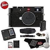 Leica M10 Digital Rangefinder 24MP Camera 20000 (Black) Bundle w/64GB SDXC Memory Card