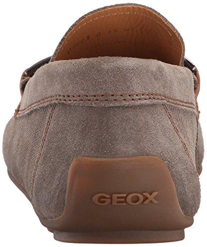 Geox U Giona B, Mocasines Para Hombre Gris (Dove Grey/Cognacc1B6N)