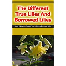 The Different True Lilies and Borrowed Lilies: Some Differences Between True Lilies and Borrowed Lilies