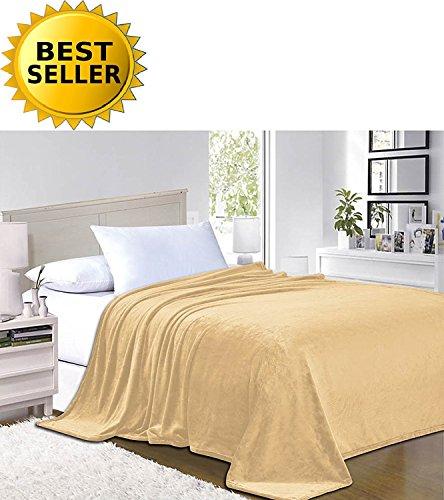 Elegant Comfort #1 Fleece Blanket on Amazon - Super Silky So