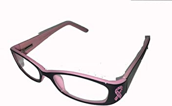 8babb4e38bc Reading Glasses Pink Ribbon Breast Cancer Awareness 0356 by ICU Eyewear  (1.00)