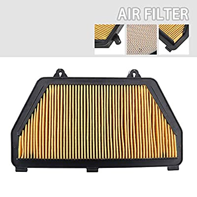 AnXin Air Filter Compatible With Honda CBR600RR 2007-2020 Motorcycle: Automotive