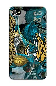 DIY Individualized NBA Jacksonville Jaguars Protective Hard Case for iPhone 4/4S