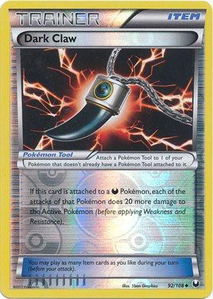 Pokemon - Dark Claw (92/108) - BW - Dark Explorers - Reverse (Card Claw)