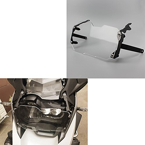 Motorcycle Acrylic Front Headlight Guard Cover Lens Protector For 2012-2017 BMW R1200GS R 1200 GS ADV Adventure 2013 2014 2015 2016