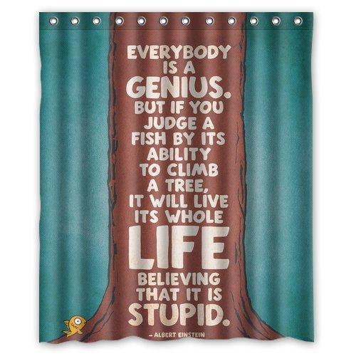 Generic Personalisierte Albert Einstein Zitat Fisch Baum