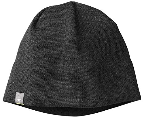 SmartWool Unisex The Lid Hat Charcoal Heather One Size