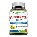 Pure Naturals St John's Wort 300 Mg 180 Capsules - Promotes positive mood - Helps to reduce Anxiety & Stress - Support Energy Production