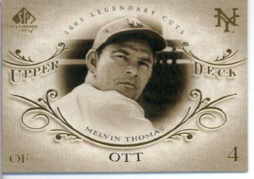 - 2005 Upper Deck SP Legendary Cuts Baseball Card #52 Mel Ott New York Giants