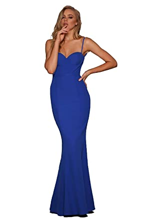 Elle Zeitoune ABBA Low Back Bustier Gown at Amazon Women's Clothing store: