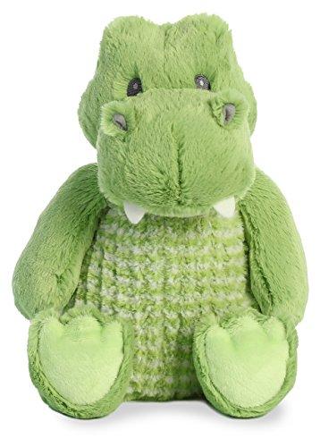 (Aurora Gator (Little Pitter Pattern) 14 inch Baby Stuffed Animal Plush 20944)