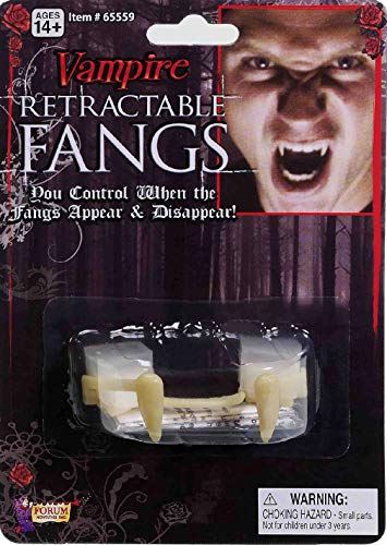 Special FX Retractable Fangs Vampire Teeth Halloween Costume Accessory
