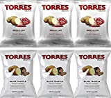 Black Truffle Iberian Ham Chips - Torres 6 Pack Assortment