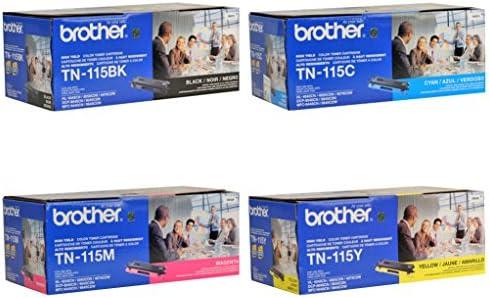 Brother TN115BK TN115C Magenta Cartridge