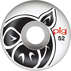 Pig Head Natural Skateboard Wheels (52 mm)