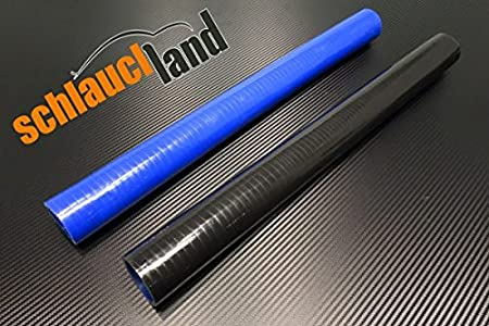 Silikonschlauch 25cm Innendurchmesser 45mm blau*** Unterdruckschlauch Vacuum Hose Verbinder LLK Schlauchland