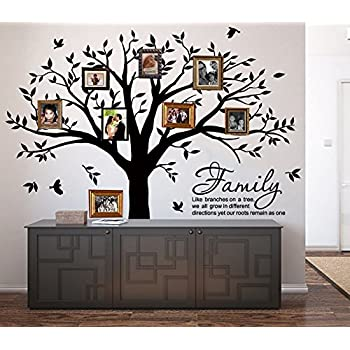 Family Tree Wall Decal by Simple Shapes (Chestnut Brown, Standard ...