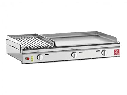 pla. Net - 26. pl-55. XL - Plancha Gas 8400 W placa acero ...