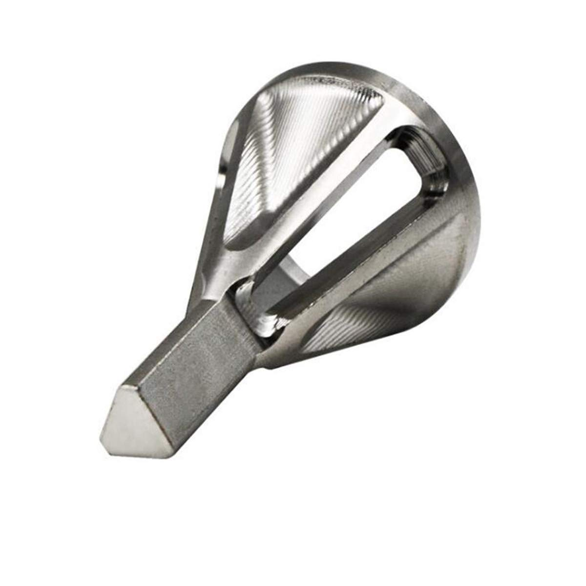 Beiswin Stainless Steel Chamfer Deburring Tool External Deburring Remove Tool for Electric Drill Bit