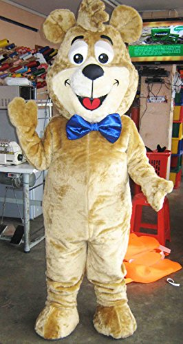 Boo-Boo Bear Mascot Costume Adult (Boo Boo Bear Costume)