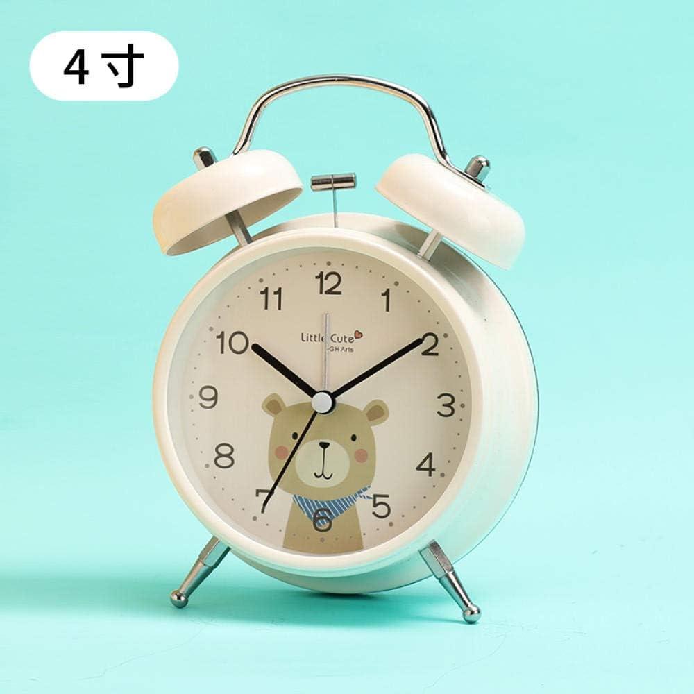 Mzbbn Réveil Digital Horloge Mute Chevet Horloge Dessin