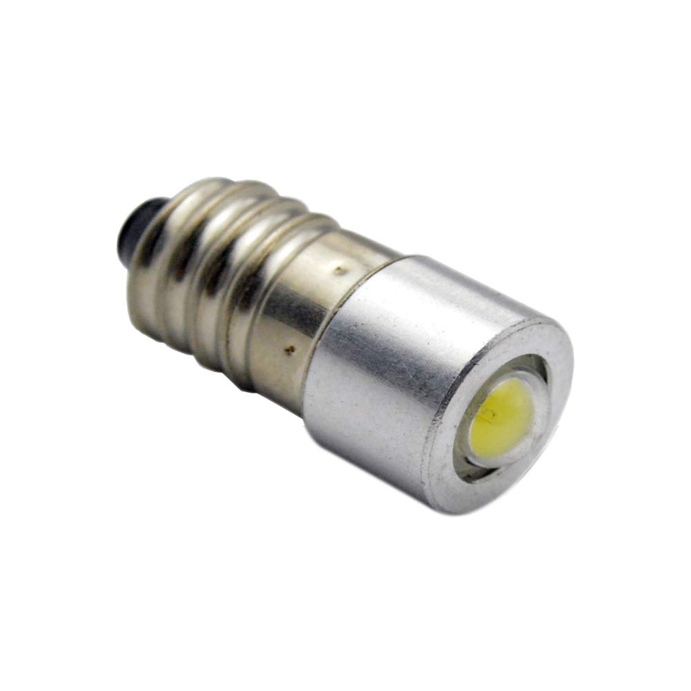1 Pcs Conversion/Upgrade E10 LED Bulb Petzl Head Torch Headlamp Zoom Duo 1W 3-18v - White Ltd.