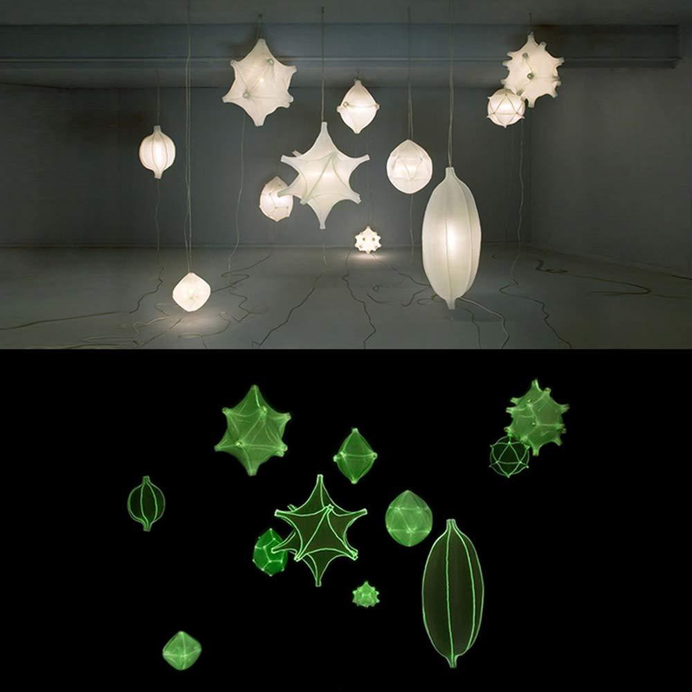 SUNLU Glow in The Dark PLA Filament 1.75 mm 3D Printer Filament Dimensional Accuracy +//- 0.02 mm for 3D Printer and 3D Pen Luminous Green 1kg Spool 3D Printing Filament