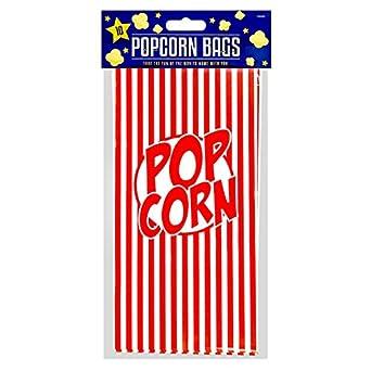 lot de 10 Stalwart V-84464/Popcorn Sacs en papier